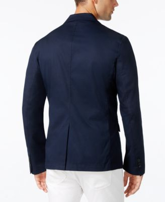 Armani Exchange Mens Two-Button Blazer