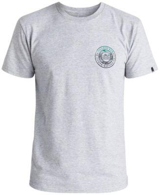 Quiksilver Mens Chuns Graphic-Print Logo T-Shirt