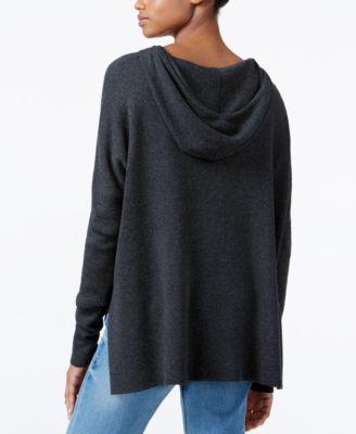 RACHEL Rachel Roy High-Low Hooded Sweater