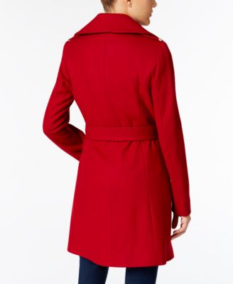 MICHAEL Michael Kors Wool-Blend Belted Walker Coat