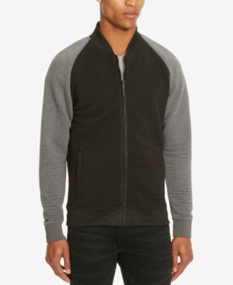 Kenneth Cole Reaction Mens Colorblocked Bomber Jacket