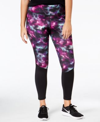 Ideology Plus Size Printed Leggings, Only at Macy's