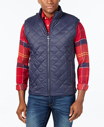 Barbour Men S Keelson Quilted Vest A Star Gift Macy S