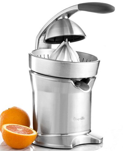 breville 800cpxl juicer motorized citrus press