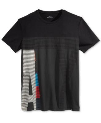 Armani Exchange Mens Colorblocked T-Sh..