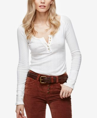 Free People Sugar And Spice Fitted Hen..