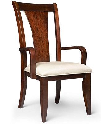 Metropolitan Splat Back Arm Chair Only At Macys