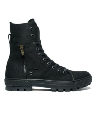 Levis Canvas Sahara Hi-Top Boots
